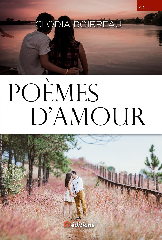 """""""Poèmes d'amour"""" de Clodia Boirreau - 9 éditions"""